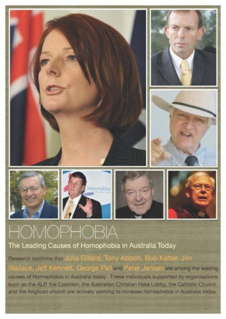 The leading causes of homophobia in Australia today