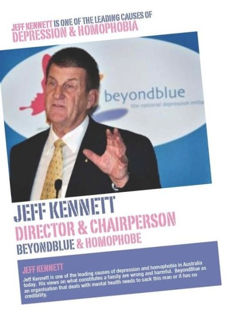 Jeff Kennett - Director & Chairperson - BeyondBlue & Homophobe