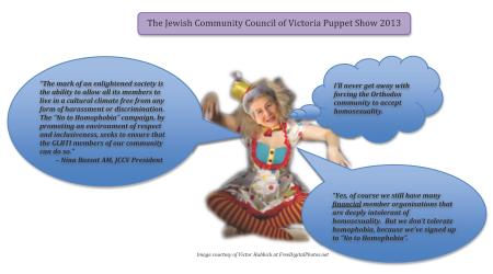 JCCV puppet show 2013