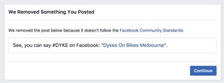 Dykes on Bikes Melbourne