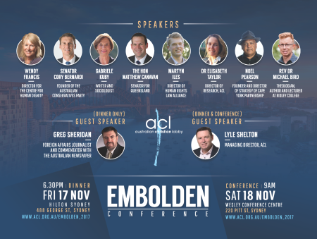 ACL 2017 Embolden Conference